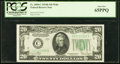 Small Size:Federal Reserve Notes, Fr. 2058-C $20 1934D Wide Federal Reserve Note. PCGS Gem New65PPQ.. ...