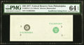 Fr. 2072-C $20 1977 Federal Reserve Note. PMG Choice Uncirculated 64 EPQ