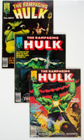 Magazines:Superhero, The Rampaging Hulk Group of 17 (Marvel, 1977-81) Condition: Average FN.... (Total: 17 Comic Books)