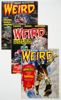 Magazines:Horror, Weird Magazine Group of 38 (Eerie Publications, 1966-80) Condition: Average VG.... (Total: 38 Comic Books)