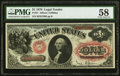 Large Size:Legal Tender Notes, Fr. 27 $1 1878 Legal Tender PMG Choice About Unc 58.. ...
