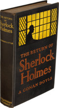 Books:Mystery & Detective Fiction, A. Conan Doyle. The Return of Sherlock Holme...