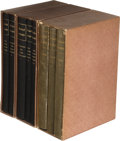 Books:Mystery & Detective Fiction, A. Conan Doyle. Group of Three Multivolume Limited Edition...