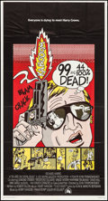 "Movie Posters:Crime, 99 and 44/100% Dead (20th Century Fox, 1974). Folded, Very Fine-. International Three Sheet (41"" X 77""). Crime.. ..."
