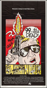 "99 and 44/100% Dead (20th Century Fox, 1974). Folded, Very Fine-. International Three Sheet (41"" X 77""). Crime..."