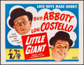 """Movie Posters:Comedy, Little Giant (Realart, R-1954). Rolled, Very Fine. Half Sheet (22"""" X 28""""). Comedy.. ..."""