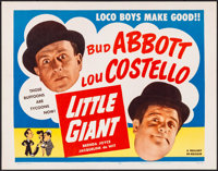 "Little Giant (Realart, R-1954). Rolled, Very Fine. Half Sheet (22"" X 28""). Comedy"