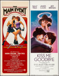 "Movie Posters:Sports, The Main Event & Other Lot (Warner Brothers, 1979). Rolled & Folded, Very Fine-. Inserts (8) (14"" X 36""). Sports.. ... (Total: 8 Items)"