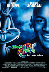 """Space Jam (Warner Brothers, 1996). Rolled, Very Fine. One Sheets (2) (27"""" X 40"""") DS, Advance and Regular Style..."""
