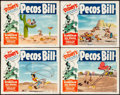 "Movie Posters:Animation, Pecos Bill & Other Lot (RKO, R-1954). Fine/Very Fine. Lobby Card Set of 4 (11"" X 14"") & One Sheets (17) (27"" X 41""). Animati... (Total: 21 Items)"