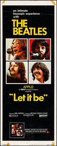 """Movie Posters:Rock and Roll, Let It Be (United Artists, 1970). Rolled, Fine/Very Fine. Insert (14"""" X 36""""). Rock and Roll.. ..."""