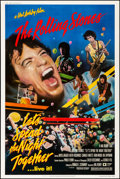"""Movie Posters:Rock and Roll, Let's Spend the Night Together (Embassy, 1983). Rolled, Very Fine. Poster (40"""" X 60""""). Rock and Roll.. ..."""