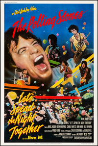 "Let's Spend the Night Together (Embassy, 1983). Rolled, Very Fine. Poster (40"" X 60""). Rock and Roll"