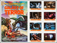"Galaxy of Terror (New World, 1981). Folded, Very Fine+. Short Stop (54"" X 41"") Charo Artwork. Science Fiction..."