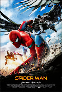 "Spider-Man: Homecoming (Columbia, 2017). Rolled, Very Fine+. International One Sheet (27"" X 40"") DS Advance. A..."