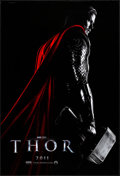 "Movie Posters:Action, Thor (Paramount, 2011). Rolled, Very Fine+. One Sheet (27"" X 40"") DS Teaser. Action.. ..."