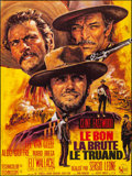 "Movie Posters:Western, The Good, the Bad and the Ugly (United Artists, R-1970s). Folded, Very Fine/Near Mint. French Grande (46"" X 61.5"") Jean Masc..."