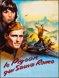 The Pigeon That Took Rome by Roger Soubie (Paramount, 1962). Rolled, Fine-. Signed Original Gouache Artwork on Paper (46...