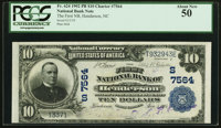 Henderson, NC - $10 1902 Plain Back Fr. 624 The First NB Ch. # (S)7564 PCGS About New 50