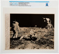 "Explorers:Space Exploration, AP Original Wirephotos: ""Space Scientist at Work"" July 31, 1969, Directly From The Armstrong Family Collection™, CAG Certi..."