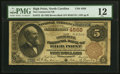 High Point, NC - $5 1882 Brown Back Fr. 472 The Commercial NB Ch. # 4568 PMG Fine 12