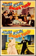 """Movie Posters:Musical, Swing Time (RKO, 1936). Fine+. Lobby Cards (2) (11"""" X 14""""). . ... (Total: 2 Items)"""