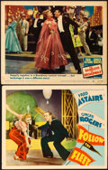 Movie Posters:Musical, Follow the Fleet & Other Lot (RKO, 1936). Fine+. L...