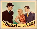 Movie Posters:Crime, The Beast of the City (MGM, 1932). Very Fine+. Lob...