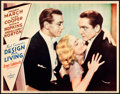 "Movie Posters:Comedy, Design for Living (Paramount, 1933). Near Mint. Lobby Card (11"" X14"").. ..."