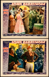 """Moby Dick (Warner Brothers, 1930). Very Fine-. Lobby Cards (2) (11"""" X 14""""). ... (Total: 2 Items)"""