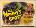 """Movie Posters:Horror, The Mummy's Ghost (Universal, 1944). Fine/Very Fine. Title Lobby Card (11"""" X 14"""").. ..."""