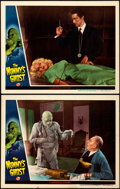 "Movie Posters:Horror, The Mummy's Ghost (Universal, 1944). Very Fine+. Lobby Cards (2)(11"" X 14"").. ..."
