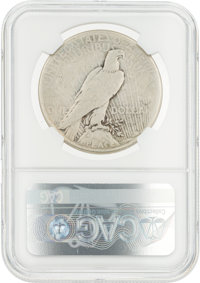 Coins: 1922-S $1 VG8 NGC Peace Silver Dollar Directly From The | Lot