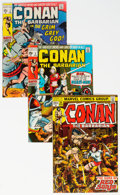Bronze Age (1970-1979):Adventure, Conan the Barbarian Group of 29 (Marvel, 1970-73) Condition: Average VG/FN.... (Total: 29 )