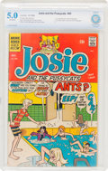 Silver Age (1956-1969):Humor, Josie and the Pussycats #45 (Archie, 1969) CBCS VG/FN 5.0 Off-white pages....
