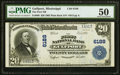 Gulfport, MS - $20 1902 Plain Back Fr. 660 The First NB Ch. # 6188 PMG About Uncirculated 50