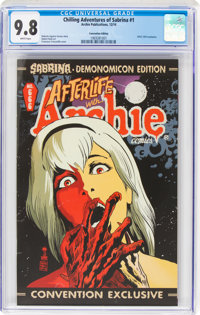 Chilling Adventures of Sabrina #1 Convention Edition (Archie, 2014) CGC NM/MT 9.8 White pages