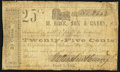 Obsoletes By State:Arkansas, Clarksville, AR- M. Rose, Son & Carey 25¢ Mar. 1, 1862 Very Good-Fine.. ...