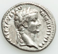 Ancients:Roman Imperial, Tiberius (AD 14-37). AR denarius (19mm, 3.70 gm, 7h). XF, ...