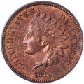 Indian Cents, 1873 1C Doubled LIBERTY, Snow-1, FS-101, MS65 Red and Brown PCGS....