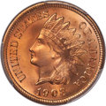 Indian Cents, 1908 1C MS67 Red PCGS....