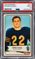 Football Cards:Singles (1950-1959), 1954 Bowman George Blanda #23 PSA Mint 9 - None Higher....