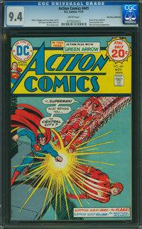 Action Comics #441 (DC, 1974) CGC NM 9.4 White pages