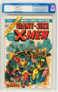 Bronze Age (1970-1979):Superhero, Giant-Size X-Men #1 Signed by Stan Lee (Marvel, 1975) CGC FN- 5.5 Off-white to white pages....