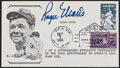 Autographs:Letters, 1986 Roger Maris Signed Babe Ruth First Day Cover - Postmarked to the 25th Anniversary of his 61st Home Run....