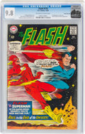 Silver Age (1956-1969):Superhero, The Flash #175 Rocky Mountain Pedigree (DC, 1967) CGC NM/MT 9.8Off-white to white pages....
