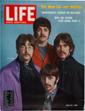 Music Memorabilia:Posters, The Beatles Life Magazine Poster With Original Poster Tube..... (Total: 2 Items)