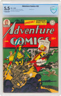 Golden Age (1938-1955):Superhero, Adventure Comics #82 (DC, 1943) CBCS FN- 5.5 Off-white to white pages....