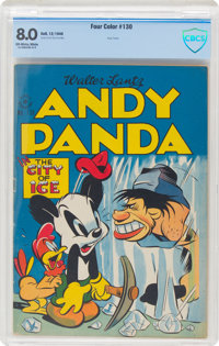 Four Color #130 Andy Panda (Dell, 1946) CBCS VF 8.0 Off-white to white pages