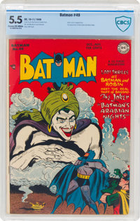Batman #49 (DC, 1948) CBCS FN- 5.5 Cream to off-white pages